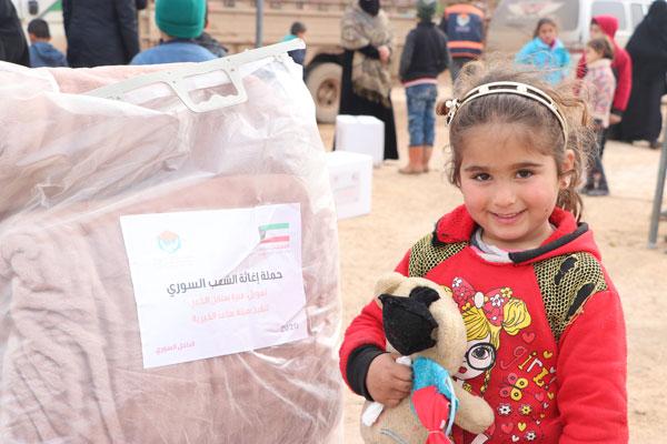 اغاثة الشعب السوري